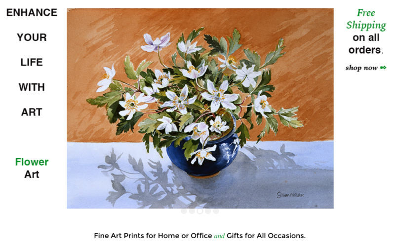 Fine art prints from original works by Gillean Whitaker